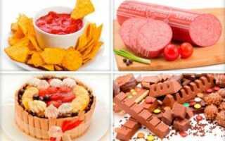 Диета от прыщей, полезные и вредные продукты, рецепты блюд, примерное меню