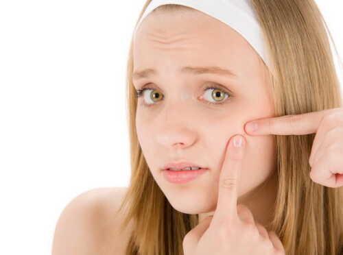Прыщи на лице – как избавиться быстро