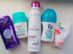 Какой дезодорант лучше: шариковый, спрей или твердый?