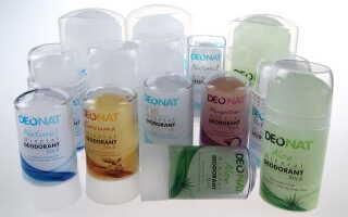 Какими свойствами должны обладать твердые дезодоранты?