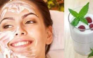 Польза и особенности применения кефирной маски для лица