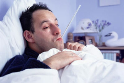 Потоотделение во время болезни: что делать?