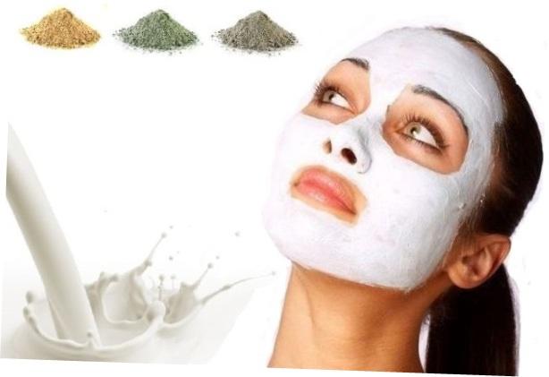 Как сделать маску с глины
