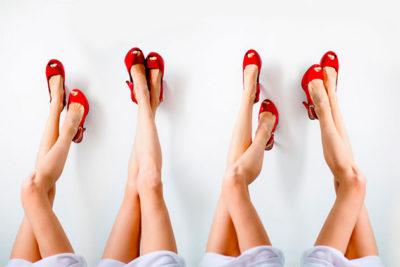 Особенности борьбы с потливостью ног у прекрасной половины человечества