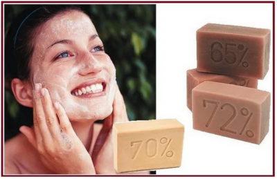 Помогает ли хозяйственное мыло от прыщей