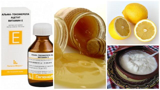 Домашние маски для волос с витамином а и е в домашних условиях