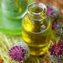 Репейное масло для лица